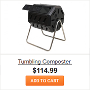 Two Chamber Tumbling Composter