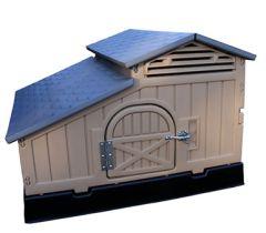 4' x 4' Medium Snap Lock Chicken Coop