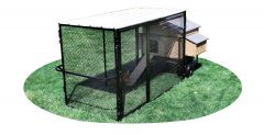 4' X 8' Run w/ 4' X 5' Large Snap Lock Coop (ULTIMATE PACKAGE)