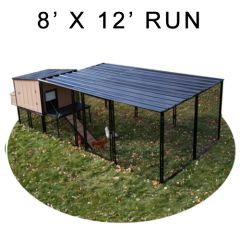 8' X 12' Run w/ 4' X 4' Urban Coop (COMPLETE PACKAGE)