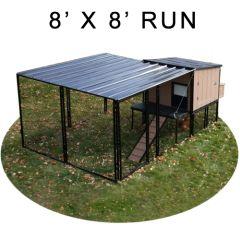 8' X 8' Run w/ 4' X 4' Urban Coop (BASIC PACKAGE)