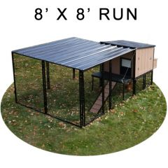 8' X 8' Run w/ 4' X 4' Urban Coop (COMPLETE PACKAGE)