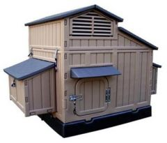 4' X 5' Large Snap Lock Chicken Coop