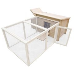 Fontana Style Chicken Coop And Run