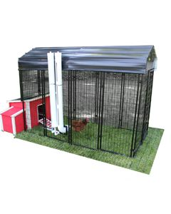 Value Chicken Coop With 4' X 8' Chicken Run (ULTIMATE)