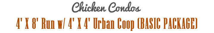 Urban Chicken Coop Title
