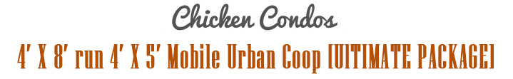 Urban Chicken Coop Title