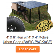 Mobile Chicken Tractor Packages from Chicken Condos