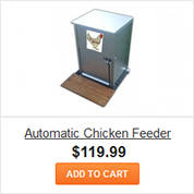 Automatic Chicken Feeder from Chicken Condos